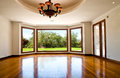 Empty big living room Royalty Free Stock Photo