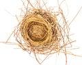 Empty bird Nest Royalty Free Stock Photo