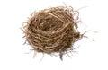 Empty birds nest Royalty Free Stock Photo