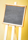 Empty black board Royalty Free Stock Photos