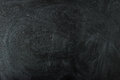 Empty black chalk board surface