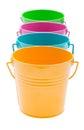 Empty bucket Royalty Free Stock Photo