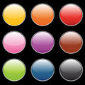 Empty buttons Royalty Free Stock Photo