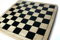 Empty Chess/Checkers Board Royalty Free Stock Photos