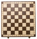 Empty chessboard Stock Images