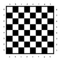Empty Chessboard Isolated. Boa...