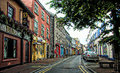 An Empty City Street of London Royalty Free Stock Photo