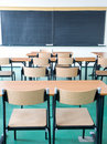 Empty classroom Stock Photography