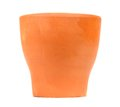 Empty Clay Flower Pot Royalty Free Stock Photos
