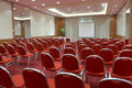 Empty conference room Royalty Free Stock Images