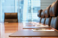 Empty Conference Room Before Meeting Royalty Free Stock Photo