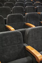 Empty conference room rows of seats texture Stock Image