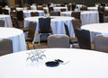 Empty Conference room with tables Royalty Free Stock Photo