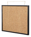 Empty cork board. Stock Photos
