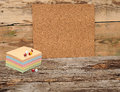 Empty cork board Royalty Free Stock Photography