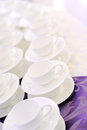 Empty Cups Royalty Free Stock Image