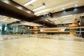 Empty dance hall Royalty Free Stock Photo
