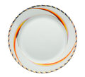Empty dinner plate Royalty Free Stock Photos