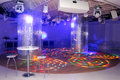 Empty disco dancefloor Royalty Free Stock Photos