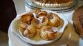 Empty escargot snails shells Royalty Free Stock Photo