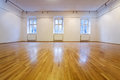 Empty exposition room Royalty Free Stock Photo