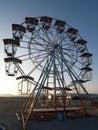 Empty ferris wheel Royalty Free Stock Photography
