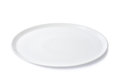 Empty flat plate Royalty Free Stock Photo