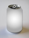 Empty Flip Top Can Royalty Free Stock Photo