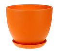 Empty flower pot Royalty Free Stock Photo