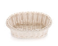 Empty food basket Royalty Free Stock Images