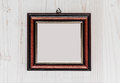 Empty frame an ready to be filled Royalty Free Stock Photography