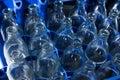 Empty glass bottles Royalty Free Stock Photo