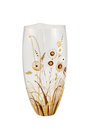 Empty glass vase Royalty Free Stock Photo