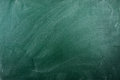 Empty  green chalkboard Stock Image