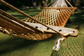 Empty Hammock Royalty Free Stock Photo