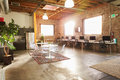 Empty Interior Of Modern Design Office Royalty Free Stock Photo