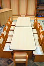 Empty kindergarten classroom Royalty Free Stock Image