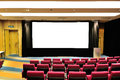 Empty lecture theater Stock Images