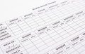 Empty medical forms for diabetes Royalty Free Stock Photo