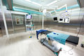 Empty modern medical operating room Royalty Free Stock Images