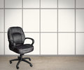 Empty office chair Royalty Free Stock Photo