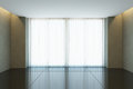 Empty office room with window Royalty Free Stock Photo