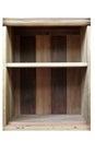 Empty old Wood Shelf Royalty Free Stock Photo