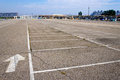Empty parking Royalty Free Stock Images