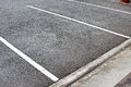 Empty parking lot in department store Royalty Free Stock Photo
