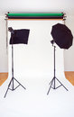 Empty Photo Studio Royalty Free Stock Image