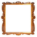 Empty picture frame with amber pattern Stock Images