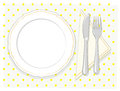 Empty plate Royalty Free Stock Photo