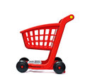 Red cart Royalty Free Stock Photo
