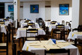 Empty Restaurant Tables Royalty Free Stock Photo